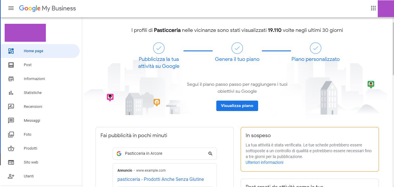 come fare pubblicità online, a cosa serve google my business