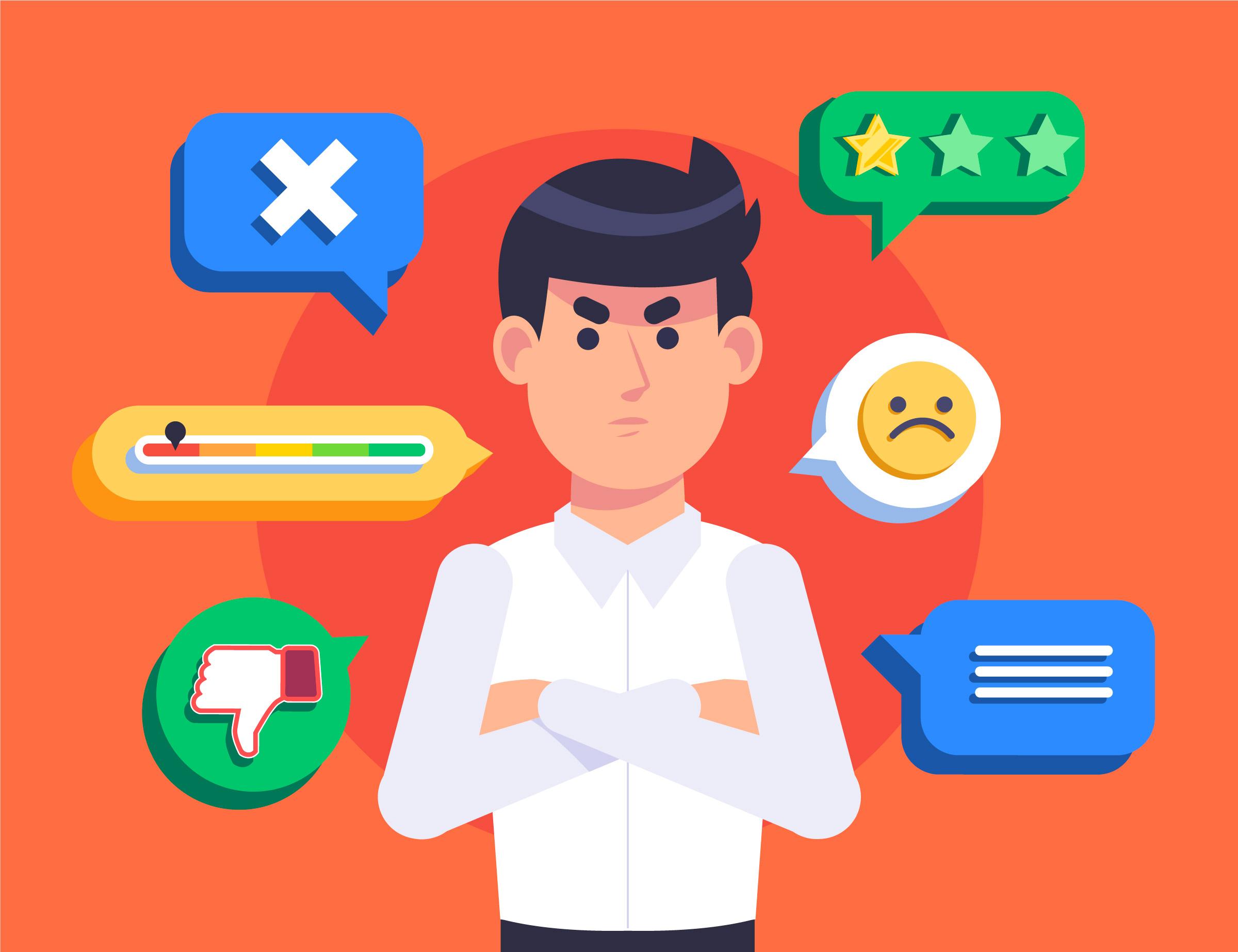 Come gestire le recensioni negative