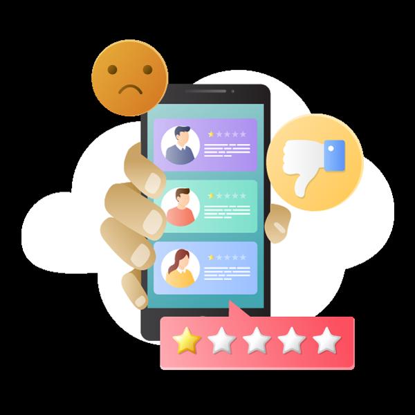 Come affrontare le recensioni negative